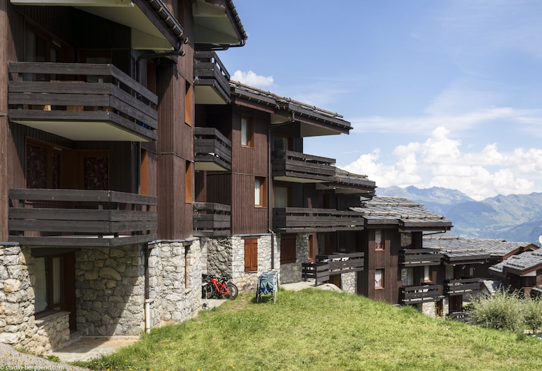 Residence Pierre&vacances Planchamp et Mottet, Les Avanchers-Valmorel, Giardino