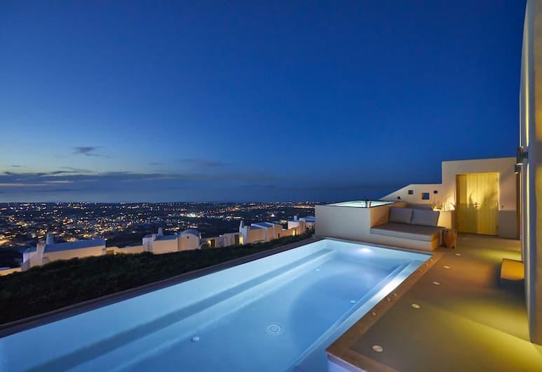 North Luxury Villas, Santorini, View from Hotel