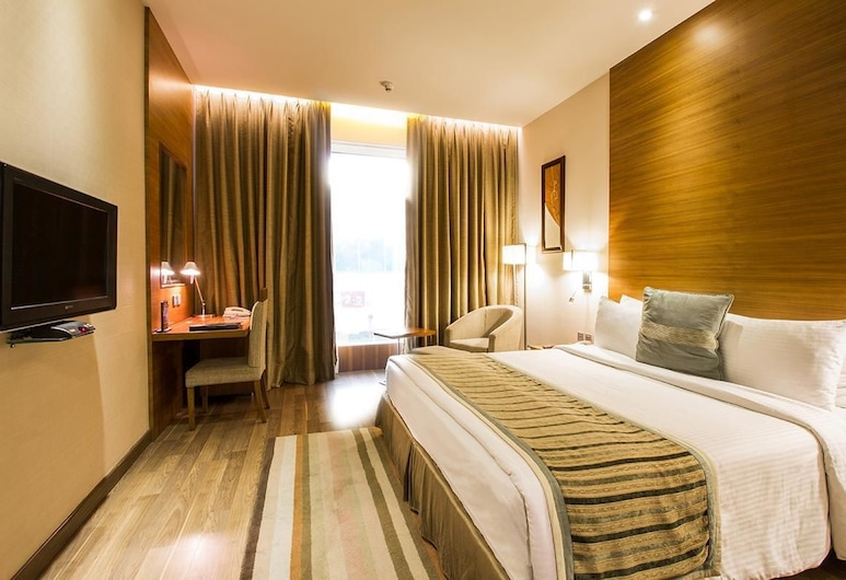 D Imperia, New Delhi, Deluxe Double Room, 1 Double Bed, Guest Room View