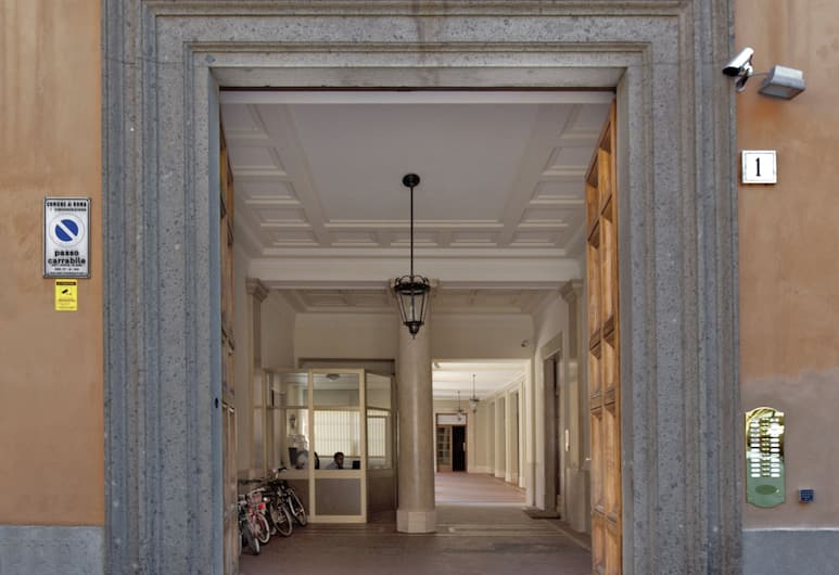 神秘羅姆旅館, 羅馬, 酒店入口