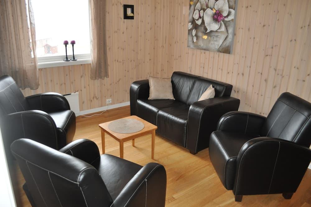 Suite Deluxe, baño privado, vista al mar (Suite 5) - Sala de estar