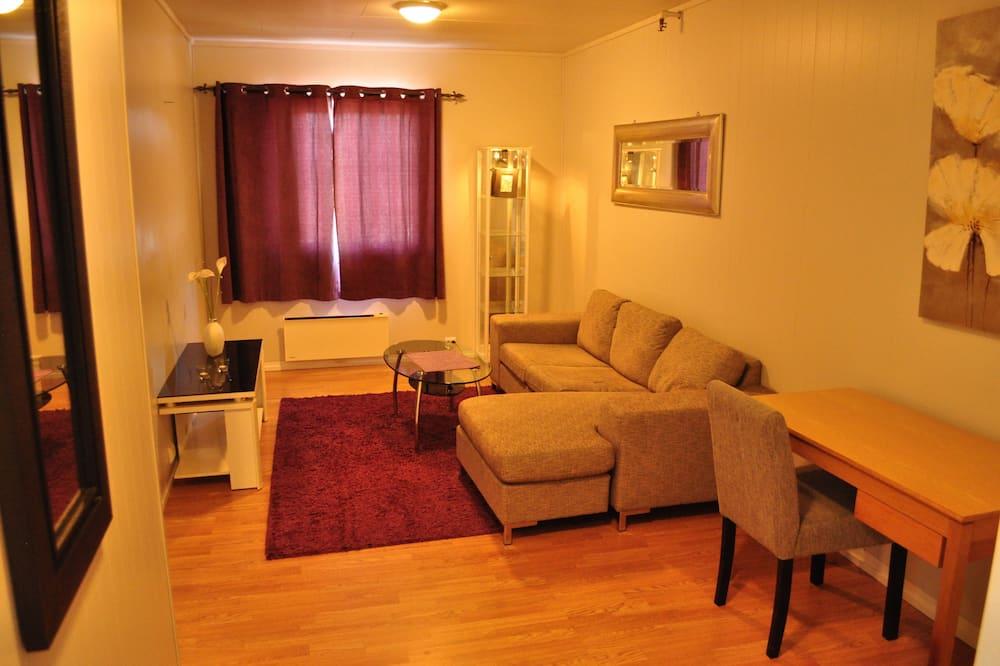 Suite Deluxe, 1 cama doble, baño privado, vista al mar (Suite 3) - Sala de estar