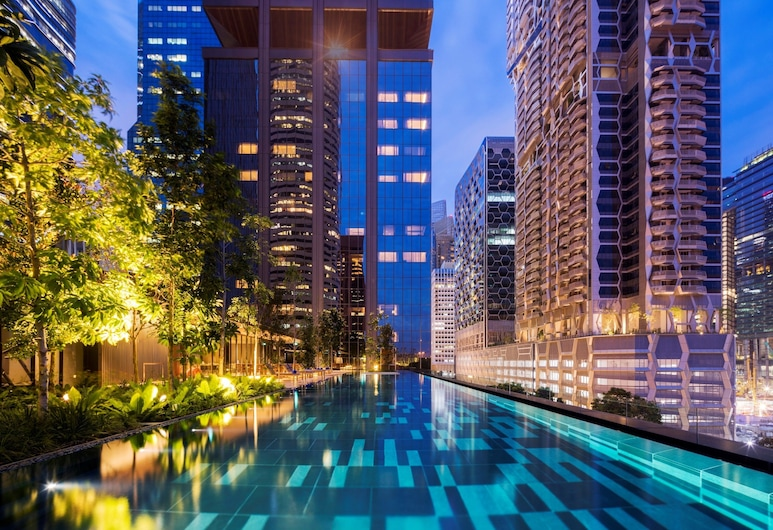 Oakwood Premier AMTD Singapore (SG Clean), Singapur, Infinity-Pool