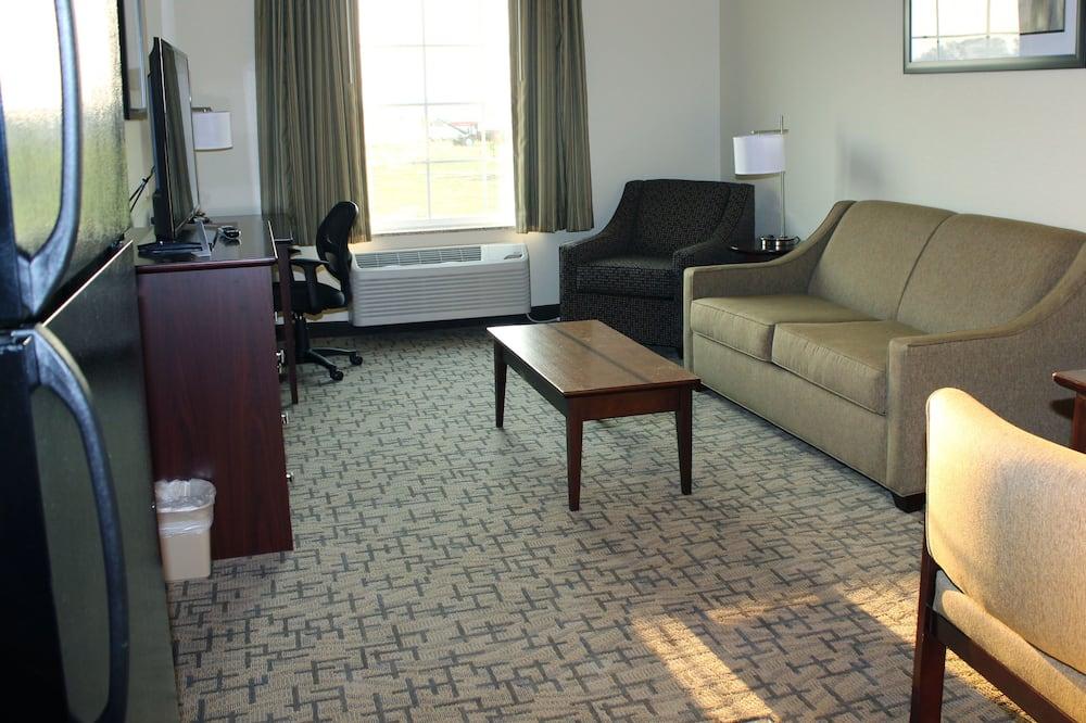 Apartament typu Suite, Łóżko king i sofa, dla niepalących - Powierzchnia mieszkalna