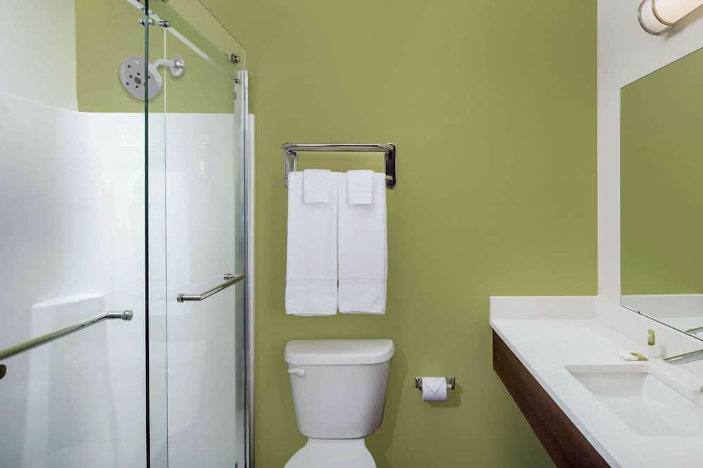 Soba, 2 queen size kreveta, pristup za osobe s invalidnošću, za nepušače - Kupaonica