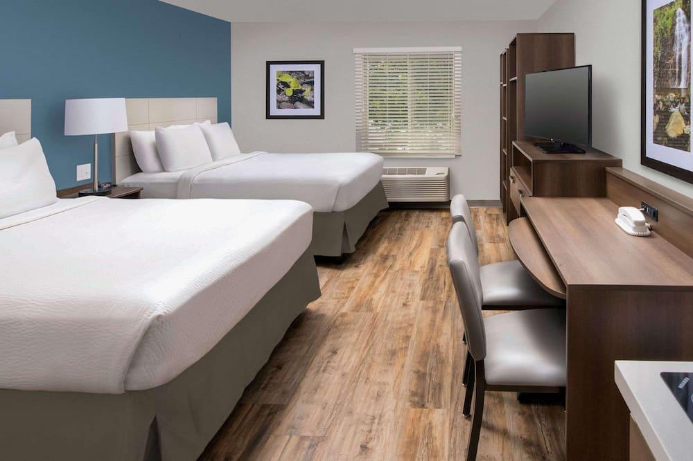 Soba, 2 queen size kreveta, pristup za osobe s invalidnošću, za nepušače - Soba