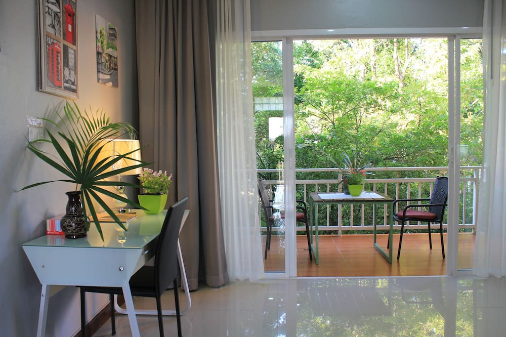 Room with Garden View - Balkoni
