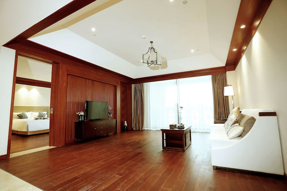 Suite Deluxe, Vista Mar - Sala de Estar