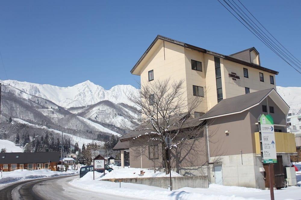 Traditionele kamer, uitzicht op bergen (Japanese/Western Style) - Uitzicht op bergen