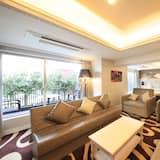 Apartmán typu Junior, nefajčiarska izba (Akasaka, 2 King Beds) - Obývacie priestory