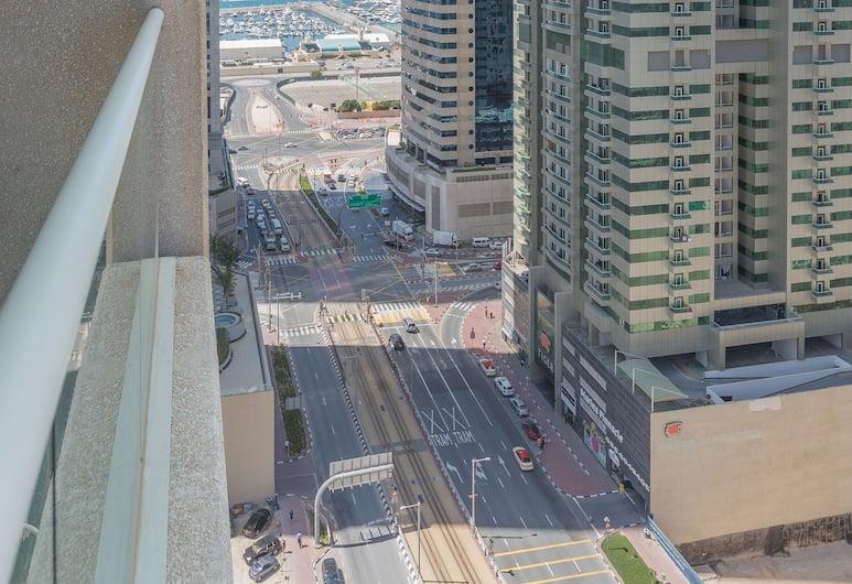 Boutique Living - Dubai Marina Heights, Dubajus, Apartamentai, 2 miegamieji, balkonas, vaizdas į miestą, Vaizdas į miestą