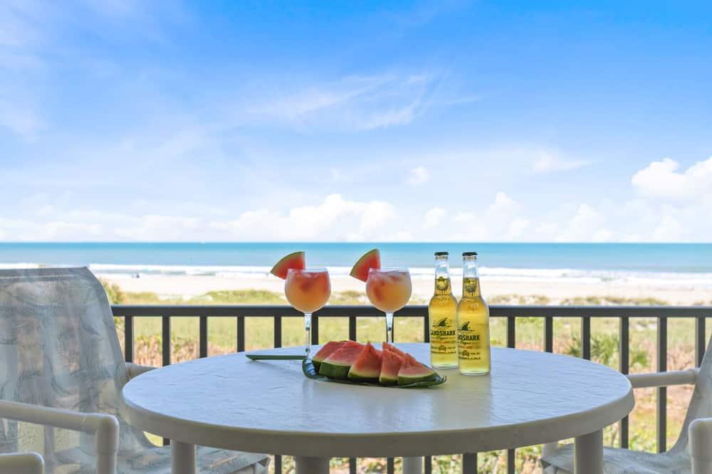 Appart'hôtel Deluxe, 2 chambres, en front de mer - Balcon