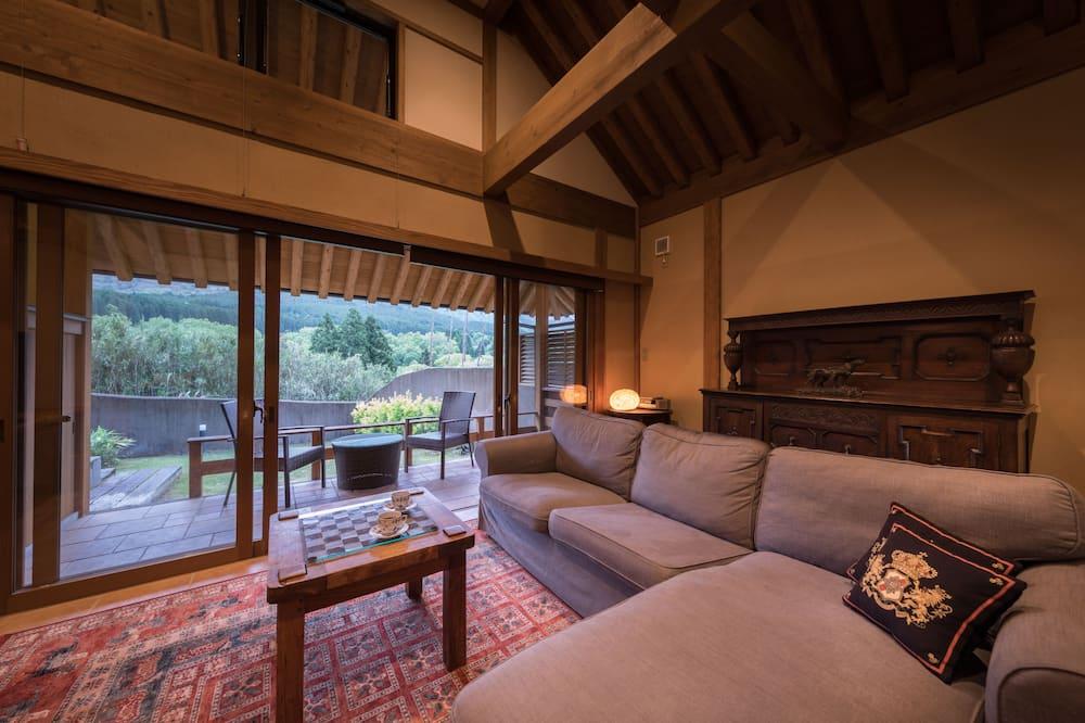 Habitación tradicional, vista a la montaña (Japanese Western Style, KYARA) - Sala de estar