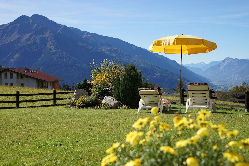 Suite monolocale Deluxe, vista giardino (plus 40 EUR cleaning fee) - Terrazza/Patio