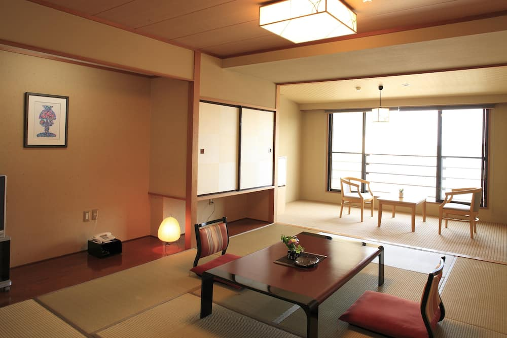 Japanese Style Room with Private Bathroom - Living Area