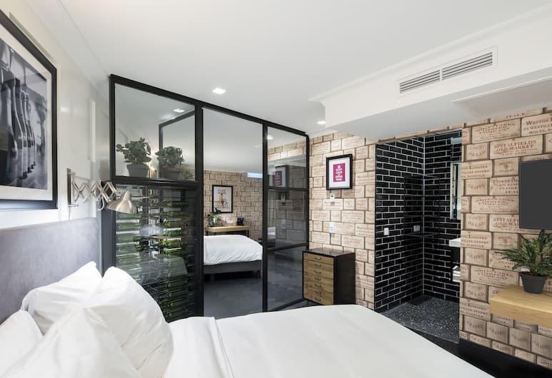 The Highland House, אמסטרדם, חדר דה-לוקס לארבעה, חדר אורחים