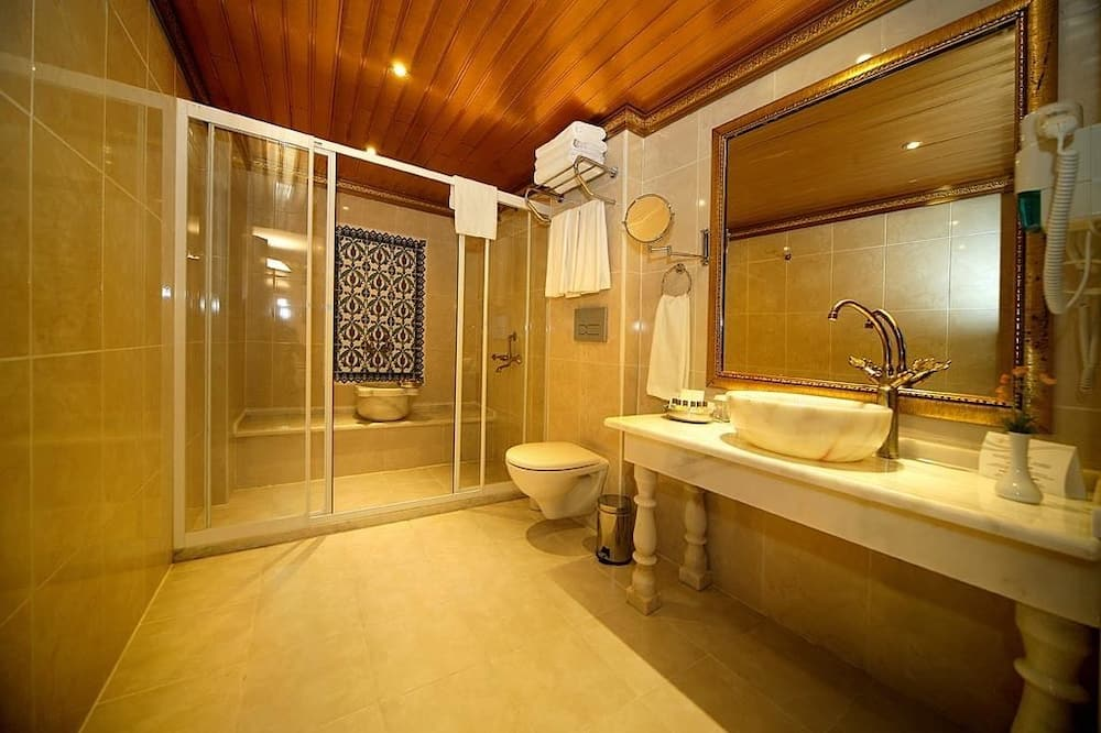 Economy-Einzelzimmer, 1Einzelbett - Badezimmer