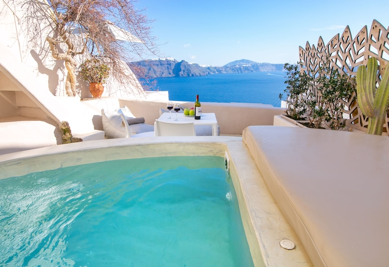 Opsis Cave House, Santorini, Apartment, 1 Bedroom, Hot Tub, Room