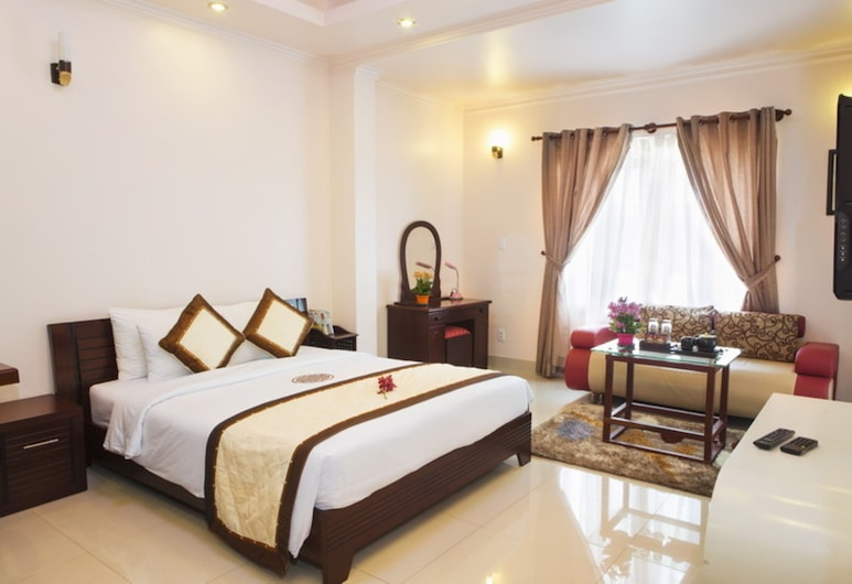 Thao Nguyen Apartment, Ho Chi Minh City, Deluxe Double Room, Guest Room