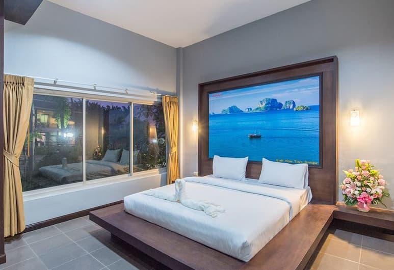 Krabi Home Town Boutique, Krabi, Triple Room with Pool View , Gjesterom