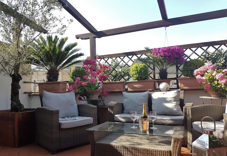Althea Inn Roof Terrace, Ρώμη, Σουίτα (Caravaggio), Αίθριο/βεράντα