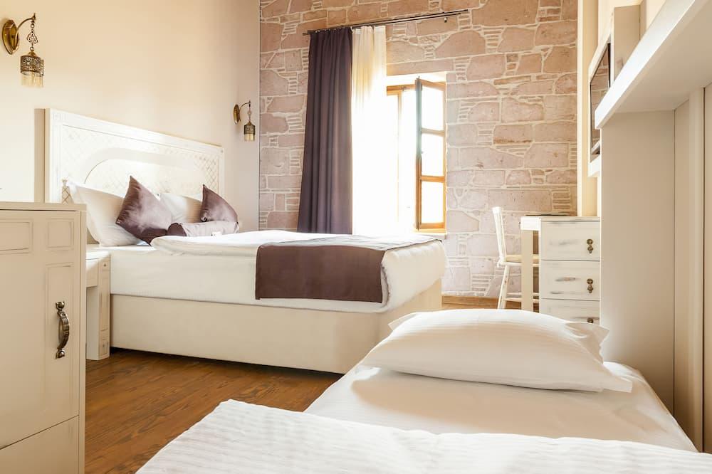 Pokój dwuosobowy typu Deluxe, 1 sypialnia, widok na ogród - Pokój