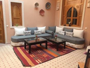 Marrakech bölgesindeki Riad Jenan Adam resmi