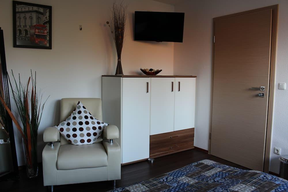 Habitación económica doble - Zona de estar
