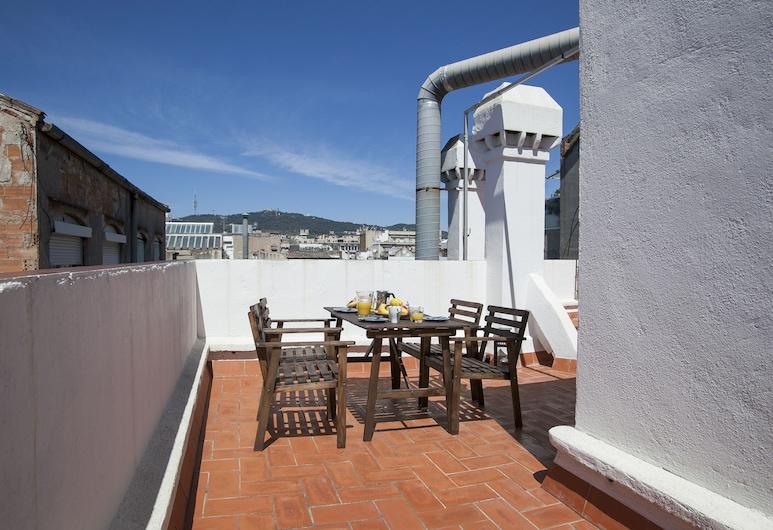 獨立式公寓酒店, 巴塞隆拿, 公寓, 2 間臥室, 露台 (1271), 室外用餐