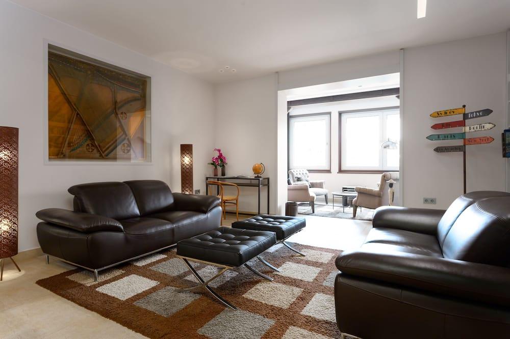 高級公寓, 6 間臥室, 城市景 - 客廳