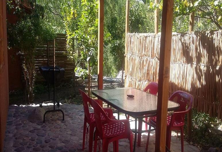 Cabaña Rústica Cristian Paihuano, Paiguano, Terrasse/veranda