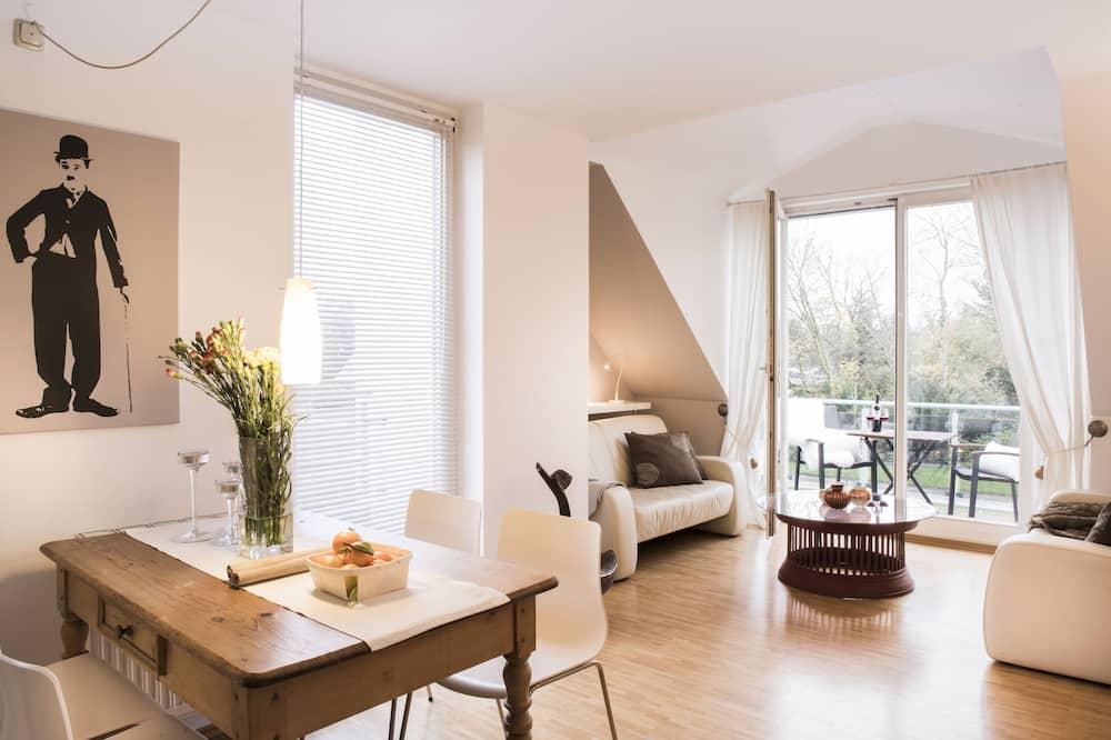 Apartamentai su patogumais, 1 miegamasis - Svetainė