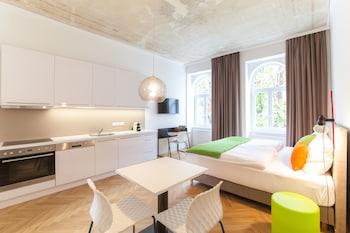 Wiedeń — zdjęcie hotelu Cube70