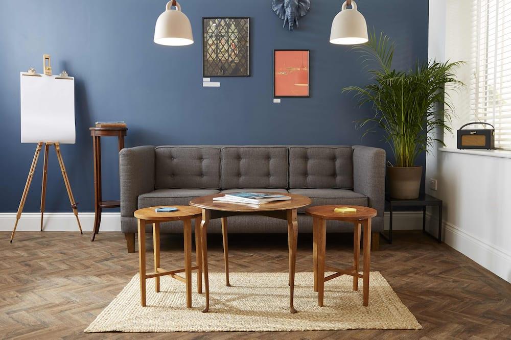 Apartmán typu Deluxe, 1 spálňa, kuchyňa - Obývačka
