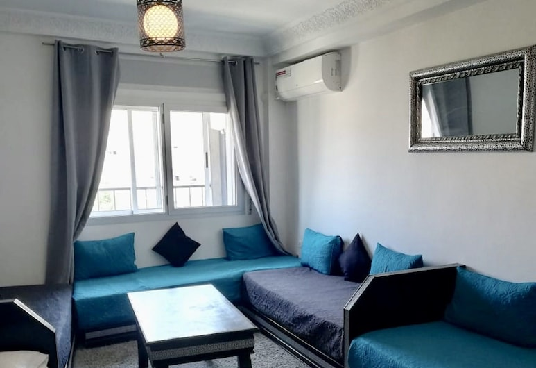 Appart Hotel Tanger Paname, Tangier, Apartment (for 6 persons), Living Room