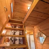 Peace Within Cabin - Living Area