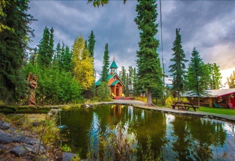 A Cabin by the Pond, Soldotna, Výhľad zo zariadenia