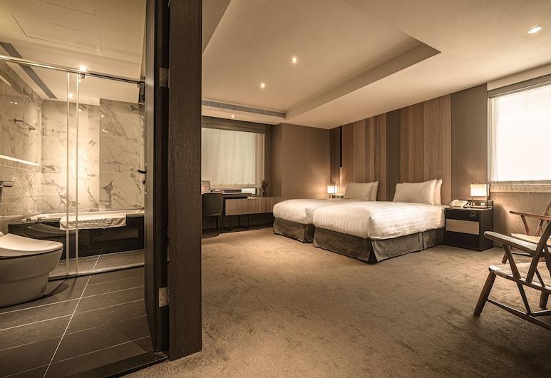 台北東旅, 台北市, 豪華雙人或雙床房, 1 間臥室, 浴缸, 客房