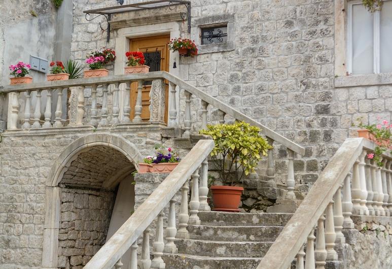 House Klaudija, Trogir, Standard stúdió, Hotel homlokzata