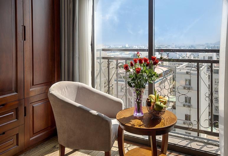 皇家魅力飯店, 峴港, 高級雙床房, 陽台, 客廳