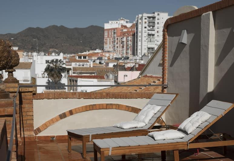 Caleta Homes - Apartamentos Tribuna, Málaga, Panoramic Penthouse, 2 Bedrooms (Ramos Marin, 2), Terrace/Patio
