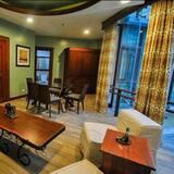 Apartmá s ložnicí a obývacím koutem (Paragon) - Obývací prostor