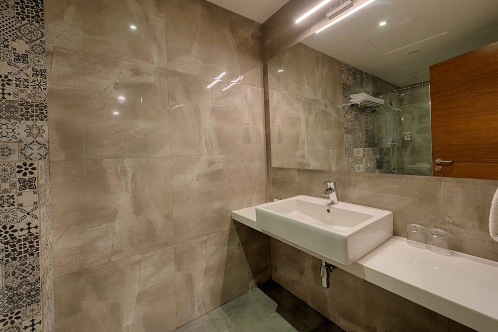 プレミアム ツインルーム 1 ベッドルーム - バスルームのシンク
