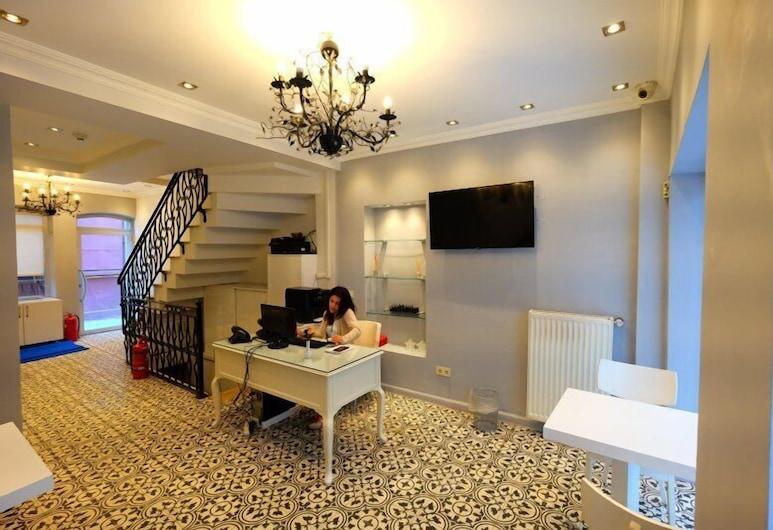 Ada Home's Hotel Taksim, İstanbul, Lobi