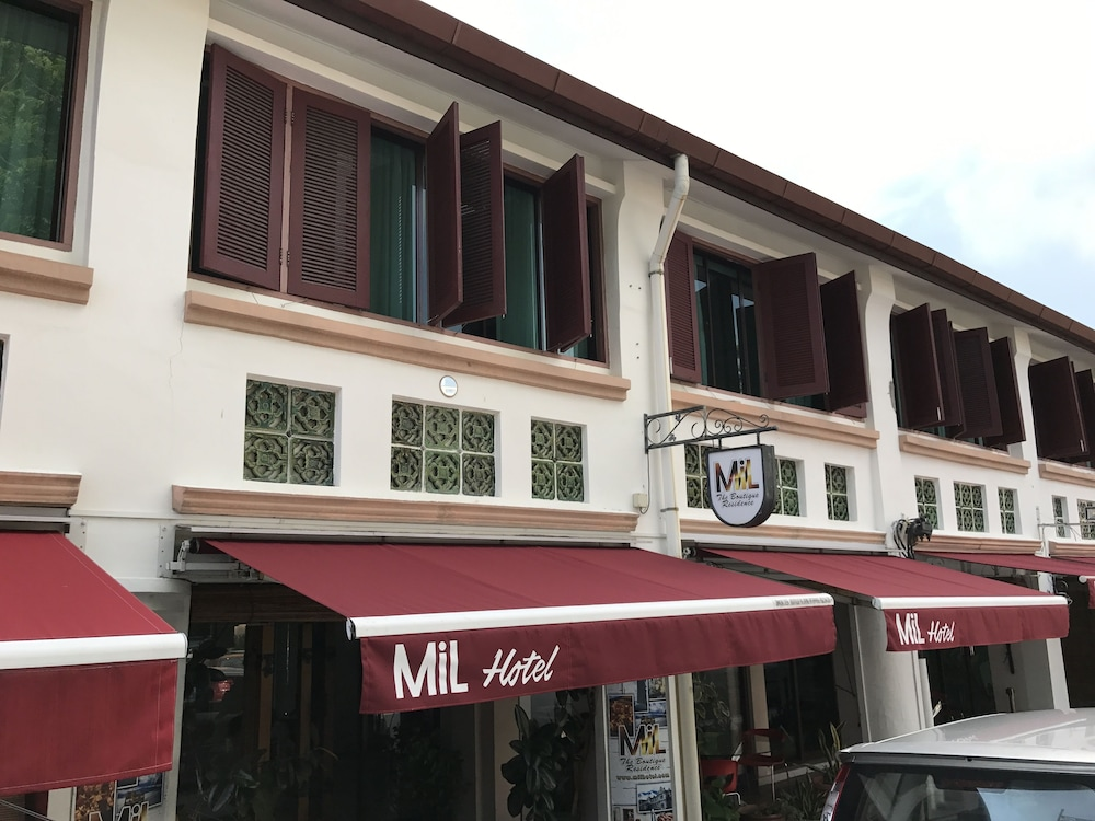 Mil The Boutique Residence Penang Hotel Front