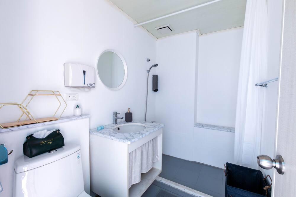 Elite-Suite, 1 Doppelbett - Badezimmer