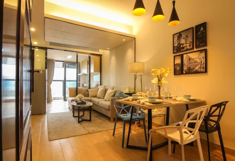 D House Apartment Shenzhen, Shenzhen, Premium suite, 2 spavaće sobe, Dnevni boravak