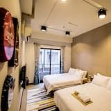 舒適四人房, 2 張標準雙人床, 獨立浴室 - 特色相片