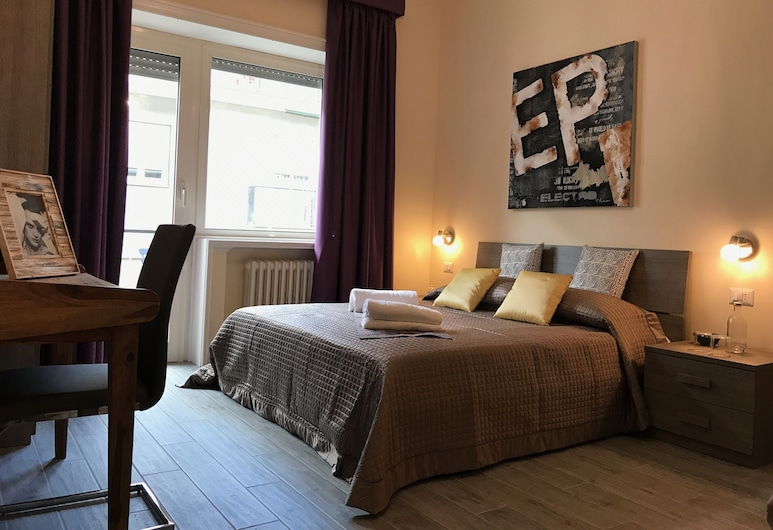 Relais RomAntica, Rome, Exclusieve vierpersoonskamer, Balkon (up to 4 people), Kamer
