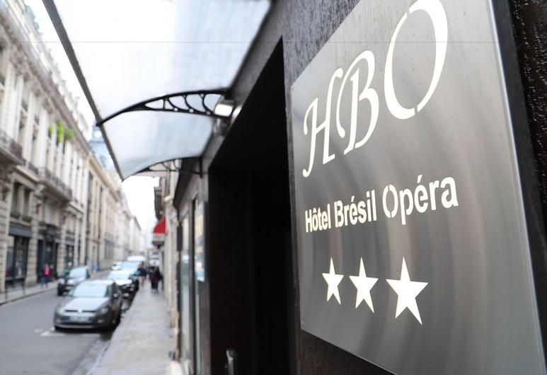 Hotel Brésil Opera, Paris, Hotel Entrance
